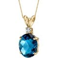 Topaz 34 Inch Gemstone Necklaces