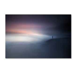 Santiago Pascual Buye 'Waiting For A New Day' Canvas Art