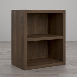 Little Seeds Sierra Ridge Terra Walnut Modular Bookcase Cubby