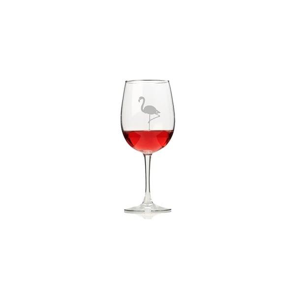 Flamingo Wine Glasses (Set of 4)