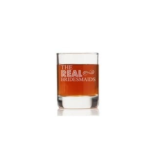 The Real Bridesmaids Rock Glasses (Set of 4)