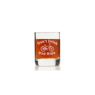 Don't Drink and Ride Rock Glasses (Set of 4)