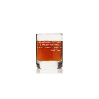 To Much of Anything Rock Glasses (Set of 4)