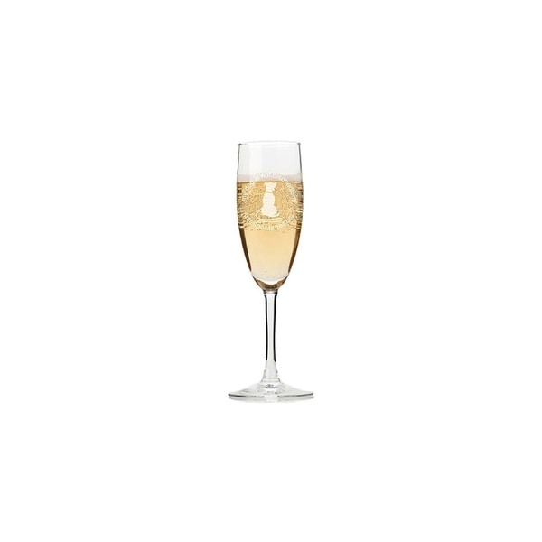 My Dog Is Not Disobedient Just Spontaneous Champagne Flutes (Set of 4)
