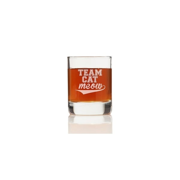 Team Cat Meow Shot Glass (Set of 4)