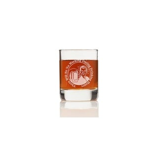 There Will Be No Working During Drinking Hours Shot Glass (Set of 4)