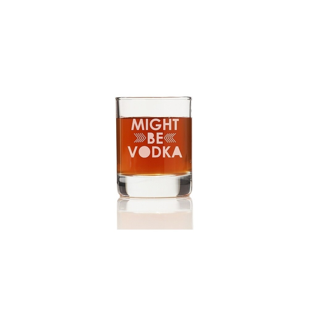 Madison Might Be Vodka Shot Glass (Set of 4), Clear