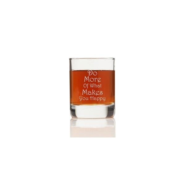 Do More of What Makes You Happy Shot Glass (Set of 4)