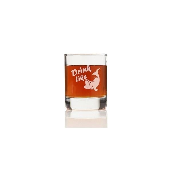 Drink Like a Fish Shot Glass (Set of 4)