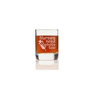 Nurses Need Shots Too Shot Glass (Set of 4)