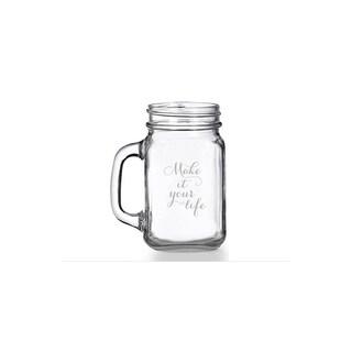 Make It Your Life Mason Jar Mug (Set of 4)