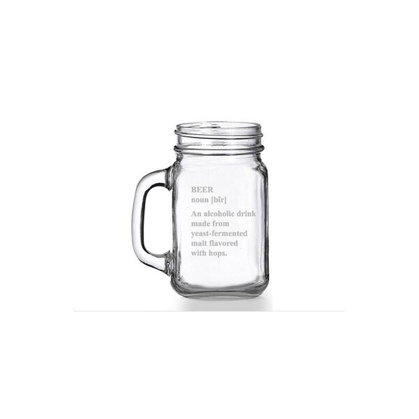 Definition of Beer Mason Jar Mug (Set of 4)