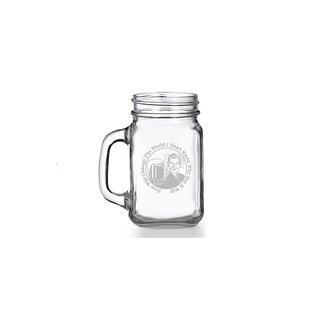 Beer Will Change The World Mason Jar Mug (Set of 4)