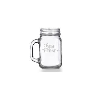 Liquid Therapy Mason Jar Mug (Set of 4)
