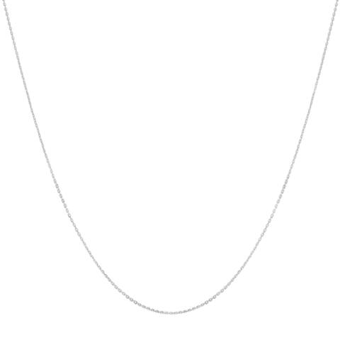 Fremada Platinum 18-inch Cable Necklace