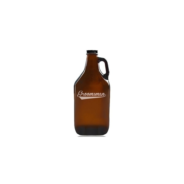 Groomsman Sport Beer Amber Growler