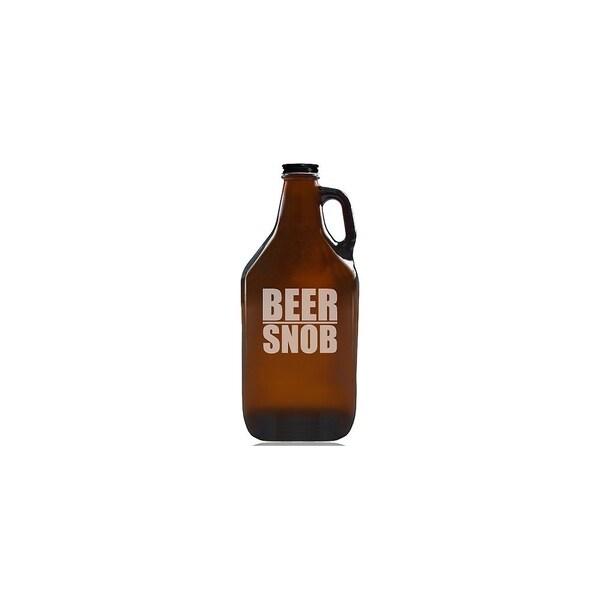 Beer Snob Beer Amber Growler