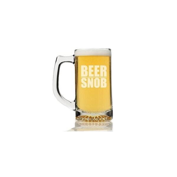 Beer Snob Beer Mug (Set of 4)