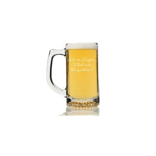 Ale or Lager… What was the Question Beer Mug (Set of 4)