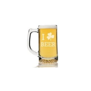 I Shamrock Beer Beer Mug (Set of 4)