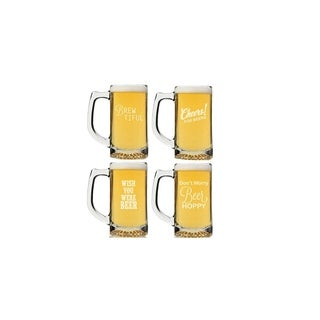 Beer Collection Beer Mug (Set of 4)