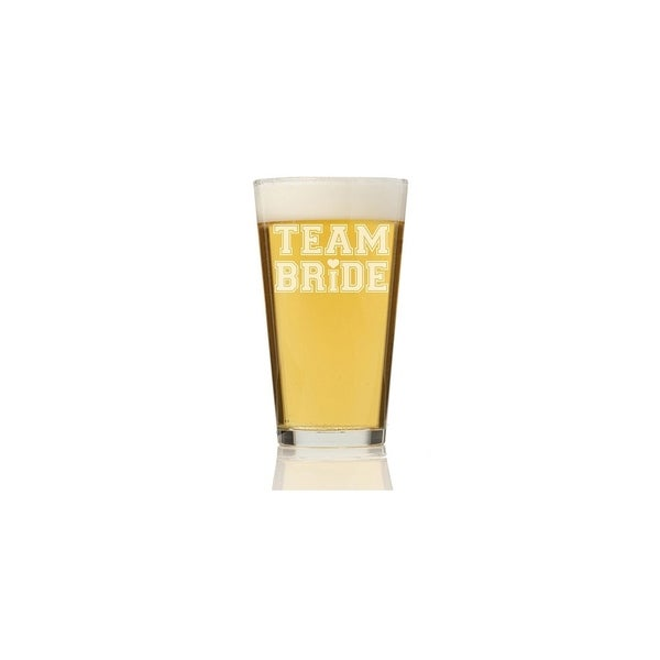 Team Bride Tall Pint Glass