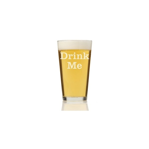Drink Me Pint Glass (Set of 4)