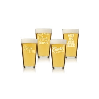Beer Collection Pint Glass (Set of 4)