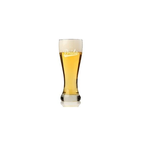 Bride Sport Pilsner Beer Glass (Set of 4)