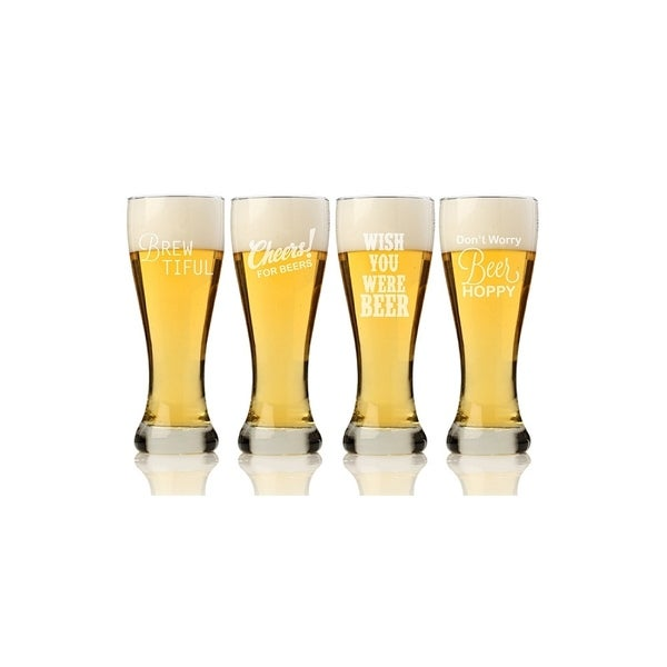 Beer Collection Pilsner Beer Glass (Set of 4)