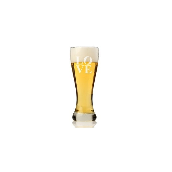 Modern Love Pilsner Beer Glass (Set of 4)