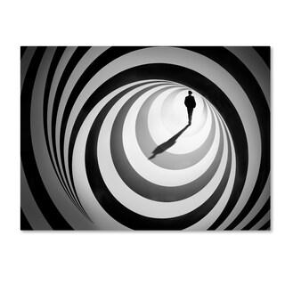 Ben Goossens 'Spiral Of Life 2' Canvas Art
