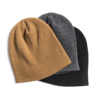 MUK LUKS® Men's 3 Pack Beanie Set