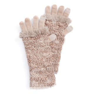 MUK LUKS® Women's Cable 3-in-1 Gloves