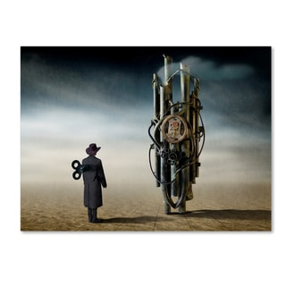 Ben Goossens 'The Time Controler' Canvas Art