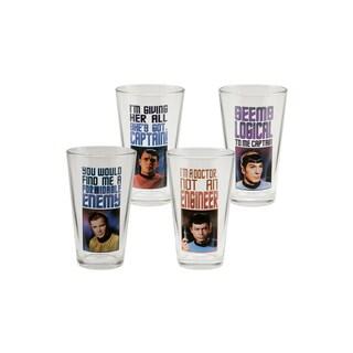 Star Trek 16oz Glass - Set of 4