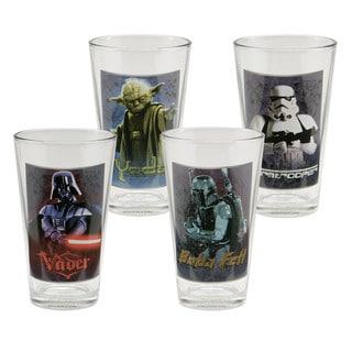 Star Wars 16oz Glass - Set of 4