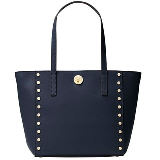 d64b1a699854 Shop Michael Kors Rivington Admiral Blue Studded Tote Bag - On Sale - Free  Shipping Today - Overstock - 17031335