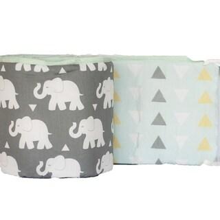 Indie Elephant Crib Bumper