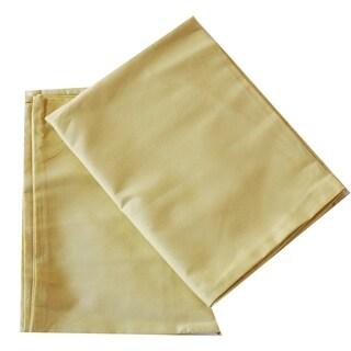 Solid Gold Crib Sheet Set
