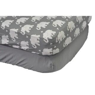 Indie Elephant Crib Sheet Set