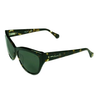 Kenneth Cole Fashion Women's KC7181 52N Dark Havana w/ Green/grey Lens Sunglasses