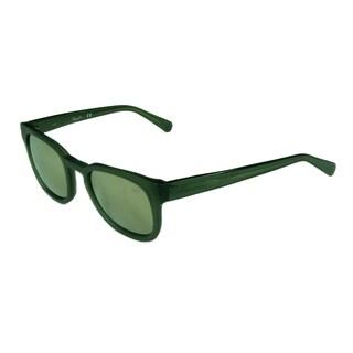 Kenneth Cole Fashion Unisex KC7200 97C Matte Dark Green w/ Brown Mirror Lens Sunglasses
