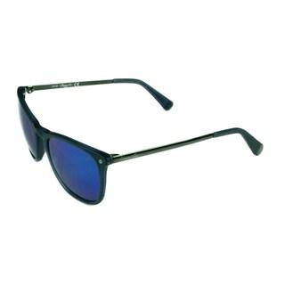 Kenneth Cole Fashion Unisex KC7178 91G Matte Blue w/ Blue Mirror Lens Sunglasses