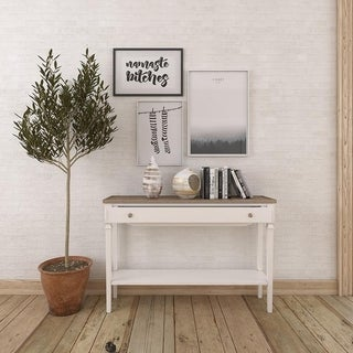 Gustave 1-drawer 1-shelf Console