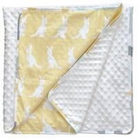Honeydoo Kangaroo Chenille Baby Blanket