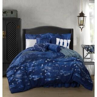 Kochi Heavy Jacquard 9-piece Oversized Comforter Set