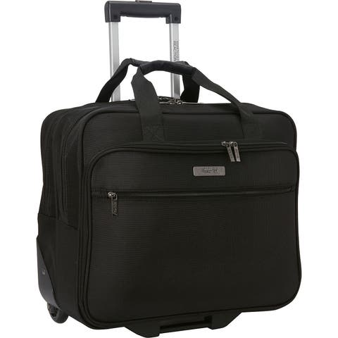58a23af3e7ea Kenneth Cole Reaction Multi-Compartment 2-Wheel Rolling 17.0-inch Laptop  Business Case