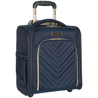 Kenneth Cole Reaction Chelsea Lightweight 2-Wheel Rolling Underseater Carry-On Tote Bag (Option: Navy)