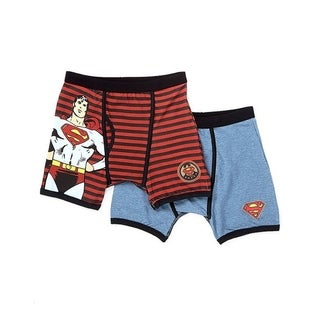 Superman Vintage stripe 2pk boxer Briefs (Option: 4)
